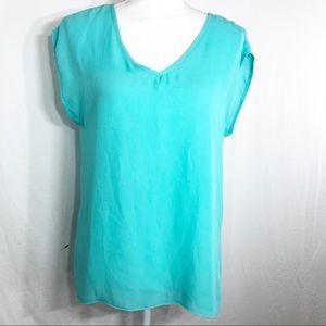 Sheer Aqua Top from MOA Size Small  G111
